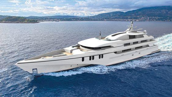 Det 84 meter lange og 20 meter brede luksusfartøyet er bestilt av en Singapore-familie, ifølge flere medier.