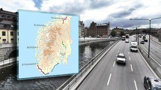 Kart: Her kommer de nye veiene