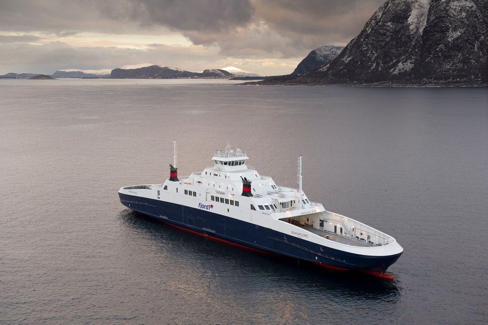 MF Boknafjord har LNG-motor. Slik anbudet for ny periode er formulert, åpner det for å fortsette med dagens LNG-ferger. De tre fergene på Mortavika-Arsvågen har plass til 212 biler og 589 passasjerer.