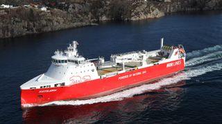 Gir, clutch og programvare: Store innkjøringsproblemer for Nor-Lines' LNG-skip