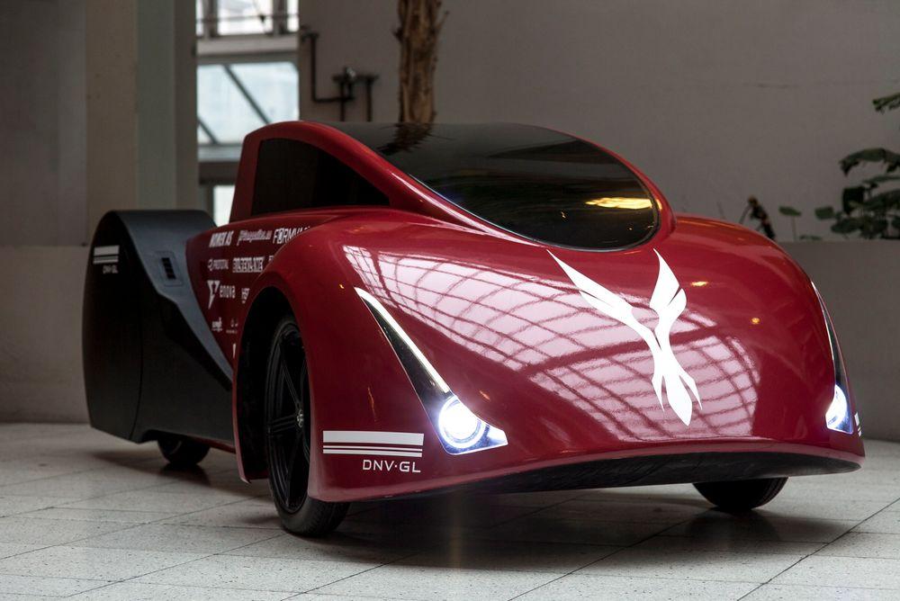 DNV GL Fuel Fighter skal forhåpentligvis kunne kjøre en avstand tilsvarende Oslo_ Trondheim på energi tilsvarende 0,1 liten bensin.