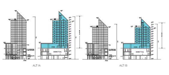 Forslag til utbygging av Oslo Plaza