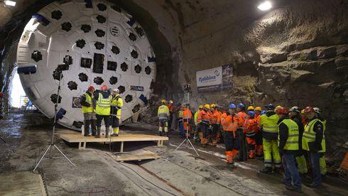 Tunnelboremaskinen «Jern-Erna» har havarert