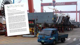Sender nytt Korea-brev til Oljefondet