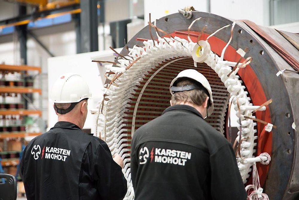 Karsten Moholt AS er tildelt en rammeavtale for tilstandskontroll, service og reparasjon av roterende elektrisk utstyr og tilhørende utstyr på alle Statoil sine installasjoner på norsk sokkel.