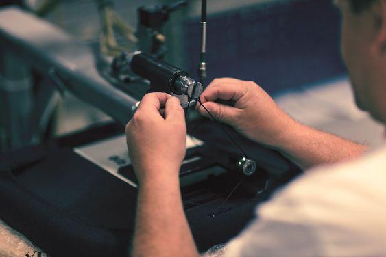 SBSeating har ikke automatisert produksjonen veldig mye, men jobber med å finne ut hvor det kan være mer effektivt.