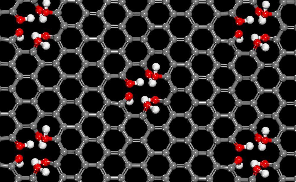 Hull i karbongitteret grafén består av gir en membran som slipper gjennom protoner og ingenting annet. Det kan gi forskere mulighet til å lage langt bedre brenselceller.