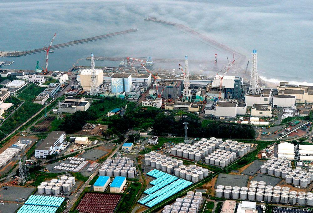 Fire år siden katastrofen: Det ødelagte atomkraftverket i Fukushima i Japan.