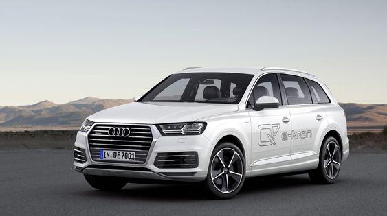 Q7 e-tron 3,0 TDI quattro er det ferskeste medlemmet i Audis ladbare familie.