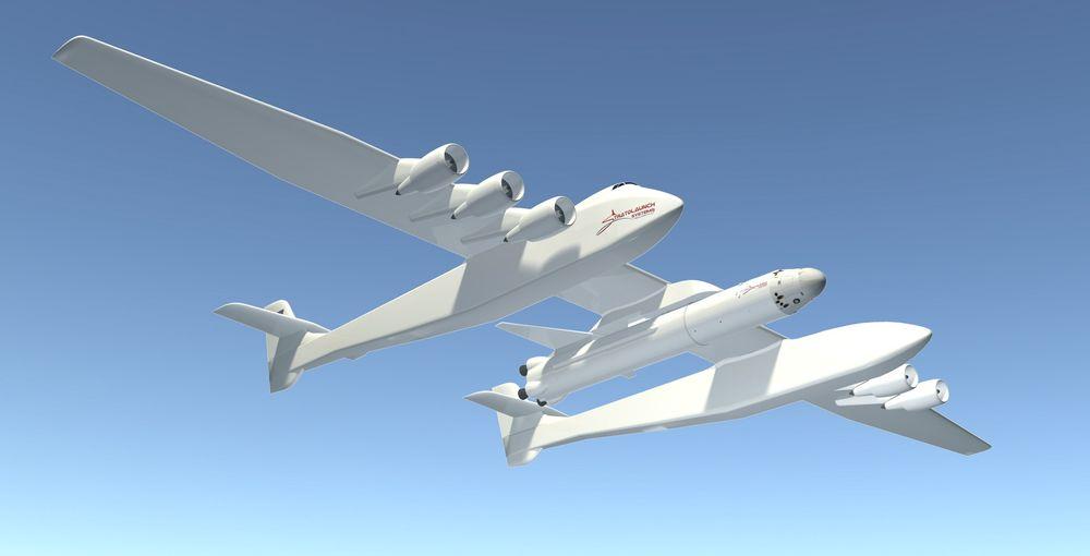 Målt i vingespenn  blir Stratolauncher, eller Scaled Composites Model 351 Roc, det største flyet som har fløyet. Jomfruferden er berammet til tidlig i 2016.