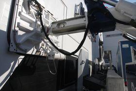 Vakuumfortøyningen holder ferja fast med 20 tonns kraft og gynger lett opp og ned i takt med bølgene.