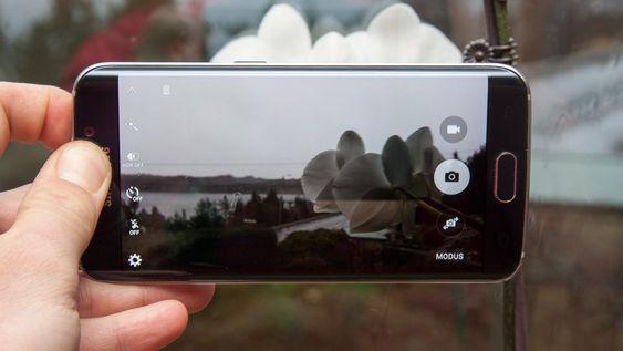 Kameraet har et rent og pent brukergrensesnitt.