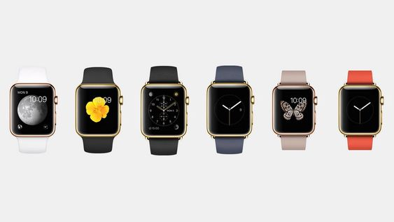 Den dyreste utgaven, Watch Edition er i gull og koster fra utrolige 10 000 dollar.