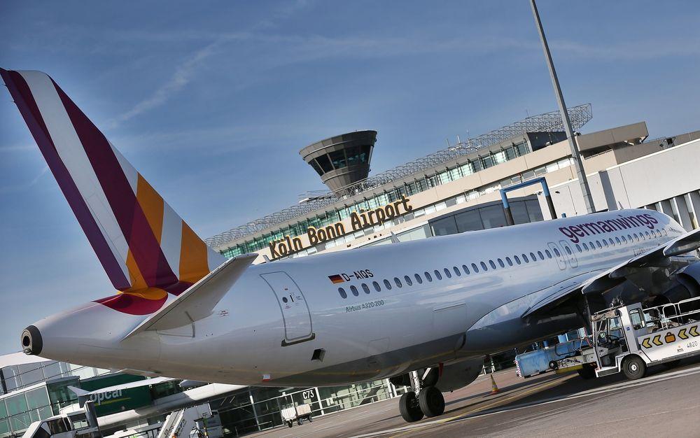 En A320 fra Lufthansa-selskapet Germanwings.