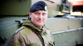 Rune Øyen i Hærstaben er prosjektkoordinator for Leopard-oppgraderingen.