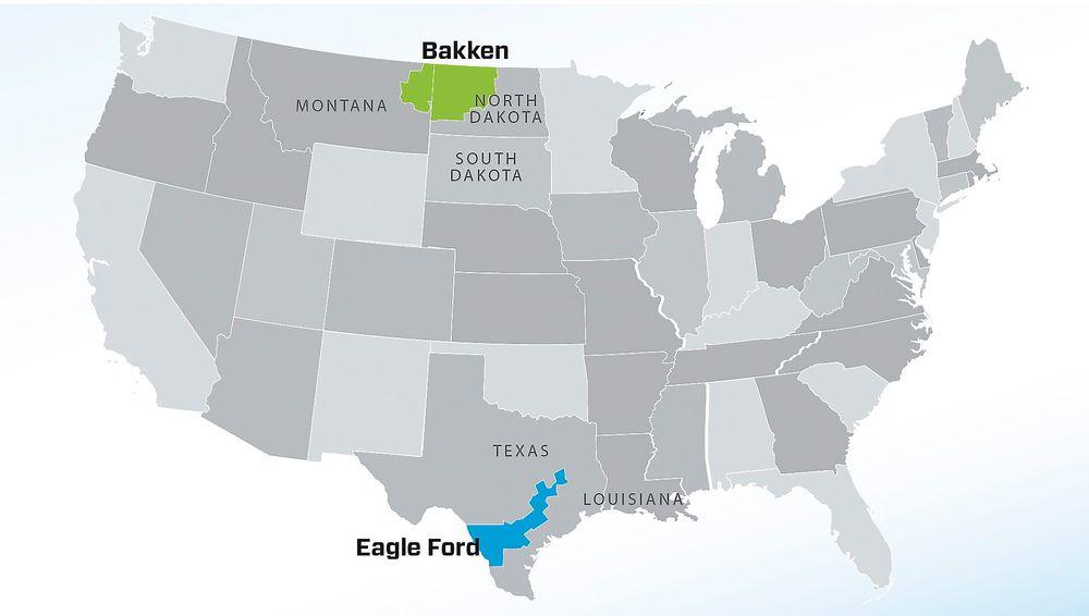 For første gang i historien skal produksjonen ned på de to største skiferoljefeltene i USA ned. Håpet er at dette kan være med på å sende oljeprisen oppover.
