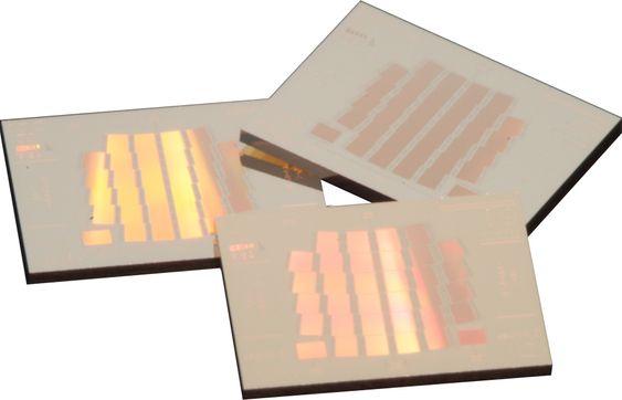MEMS-chip laget av Sintef MinaLab og montert av Mectro i Horten.
