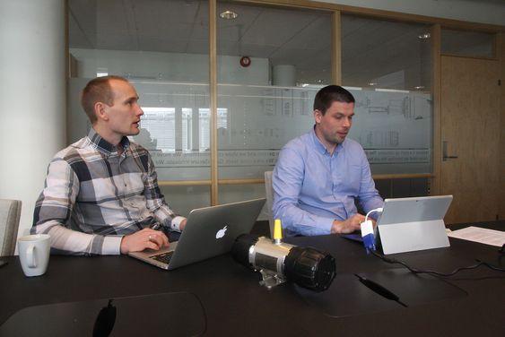 GasSecure har produsert lit over 500 av de trådløse gassdetektorene siden salget så smått begynte i 2013. De produseres i Norge.