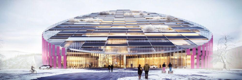 Arkitektkontoret Wingårdhs prosjektforslag «E = mc²» var Statoils foretrukkede forslag til nytt hovedkontor på Forus. Nå kan fylkesrådmannen stoppe planene.