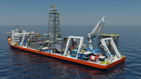 Verdens første spesialskip for gruvedrift på havbunnen får norsk motorkraft