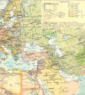 Fra Norge via Danmark til Iran og Etiopia. Lærum bygget seg gjennom tre kontinenter.