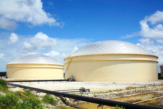 Statoils oljelager på Bahamas