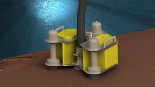 Gründerne studerte hvordan ubåtvraket U864 kunne tømmmes for olje - så fikk de en helt ny idé