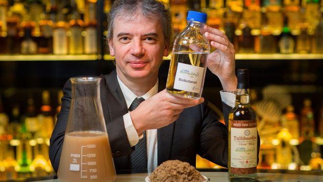 Skotter vil lage biodrivstoff av whisky