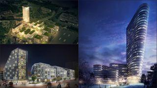 40, 30, 28, 17 etasjer - sjekk høyhusene som står i kø i Norge