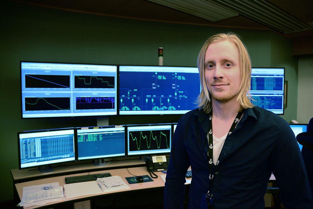 Byttet bransje: Elkraftingeniør Espen Knoph har foreløpig ingen planer om å søke seg tilbake til olje- og gassbransjen, selv om hans tidligere arbeidsgiver nå rekrutterer igjen.