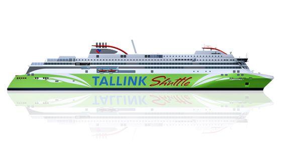 Passasjer- og bilferjen til Tallink blir 212 meter lang og kan ta 2800 passasjerer. Skipet skal levers i 2016.