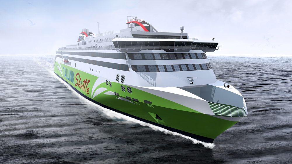 Den LNG-drevne Tallinn-Helsinki-ferjen vil holde hele 27 knop og bygges for å tåle isforholdene i Østersjøen vinterstid.