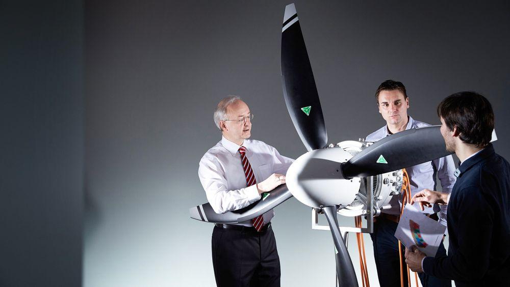 Siemens-forskere har utviklet en elmotor for fly som kan levere 260 kW selv om den bare veier 50 kilo.