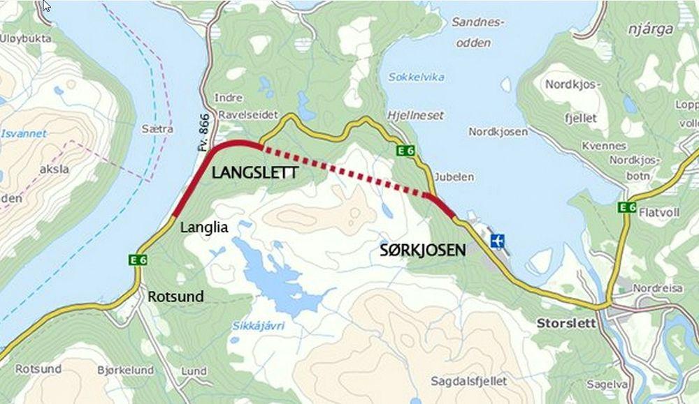 E6 Langslett-Sørkjosen blir trolig ett år forsinket på grunn av manglende fremdrift fra spanske OSSA.