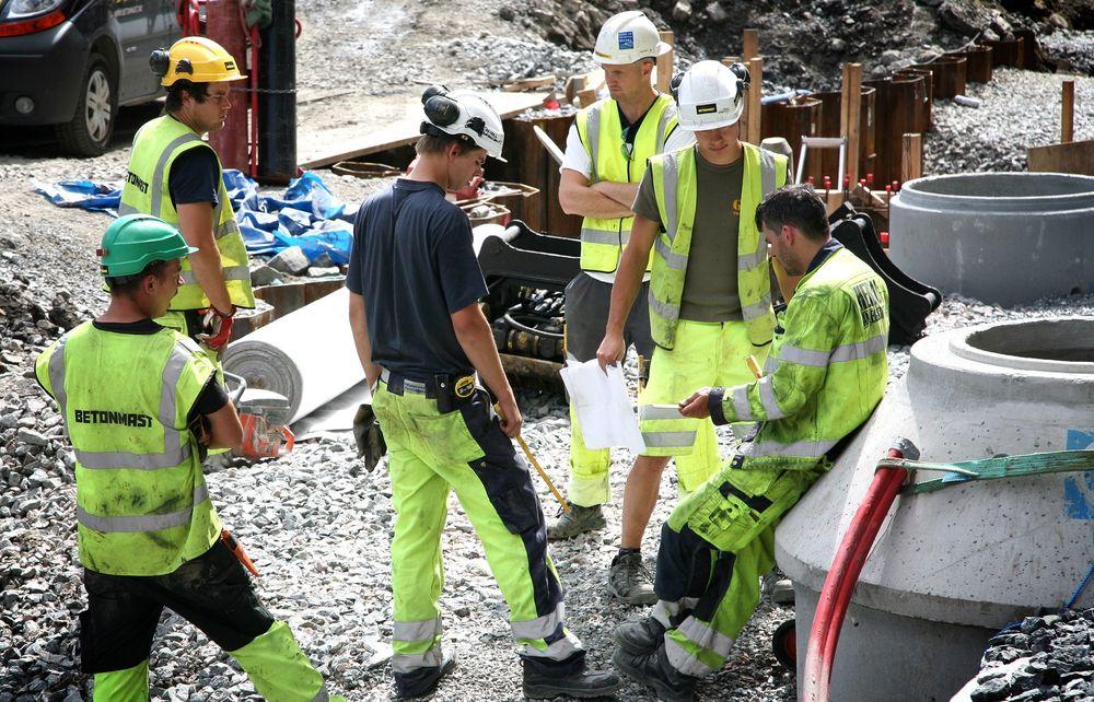 Kari Sandberg tror det økende antallet skader i byggenæringen skyldes at stadig flere rapporterer inn skader. Illustrasjonsfoto.