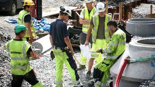 Antall arbeidsulykker i byggebransjen økte med nesten 25 prosent på tre år