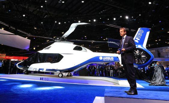 – H160 er et karismatisk helikopter, nydelig med en sterk visuell identitet, sa Airbus Helicopters-sjef Guillaume Faury i all beskjedenhet da han presenterte den nye flymaskinen i Orlando denne uka.