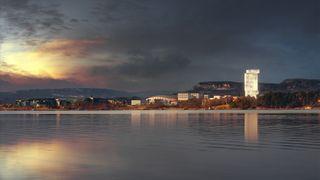 Her vil Aker bygge Norges høyeste bygning
