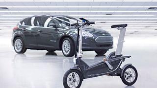 Ford lanserer ny elsykkel som kan brettes sammen