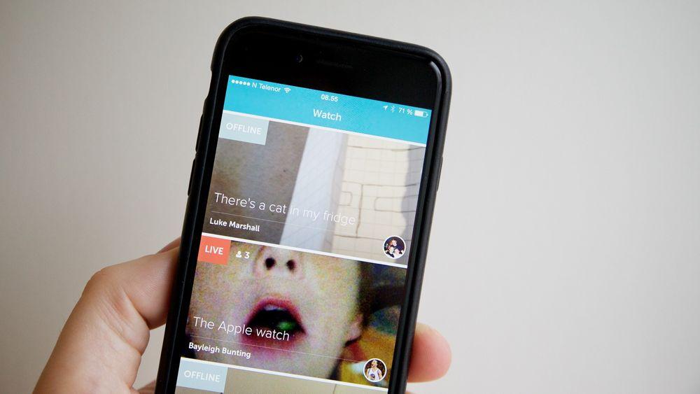 Ny app: Twitters Periscope vil overta tronen innen live mobilvideo.