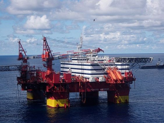 Problemer: Floatel Superior krenger i Nordsjøen.