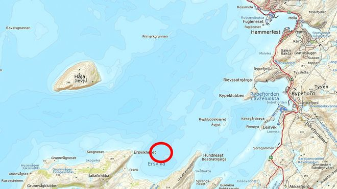 Fraktes med gigantskip: Her skal Goliat ankres opp i Norge
