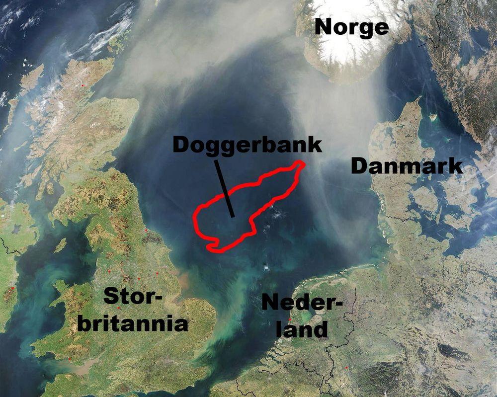 Doggerbank: Her har Statoil og Statkraft har gjennom konsortiet Forewind fått klarsignal for å gå videre med det som foreløpig er verdens største havvindpark under planlegging.