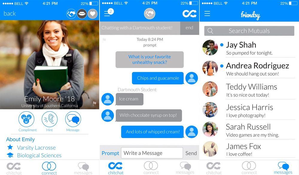 Gründerne bak Friendsy-appen håper at de skal klare å fylle et hull for studenter som ønsker å date eller bare bli venner.
