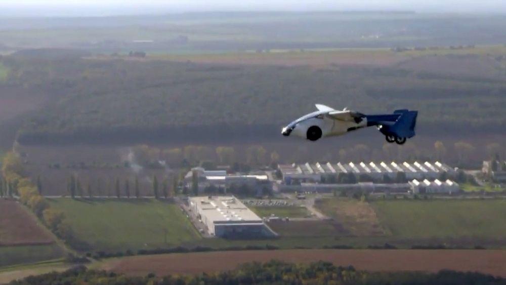 Aeromobil har planene klare for hvordan den flyvende bilen deres skal kunne både ta av, fly og lande automatisk. Og så eventuelt kjøre videre på veien om du ikke er helt ved destinasjonen.