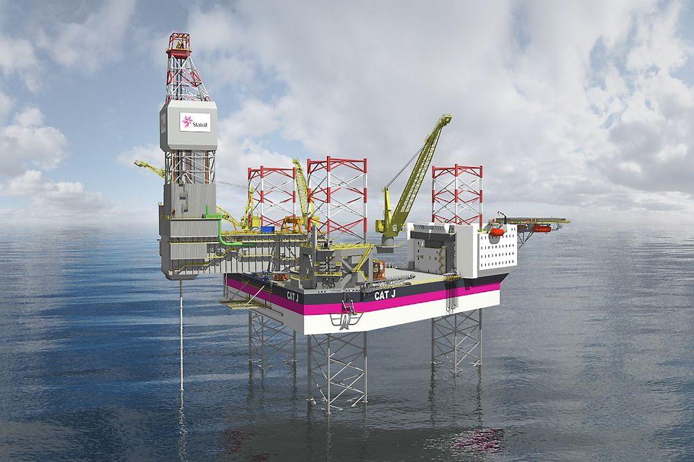 KCA Deutag skal drive Statoils to Cat-J-rigger når de kommer.