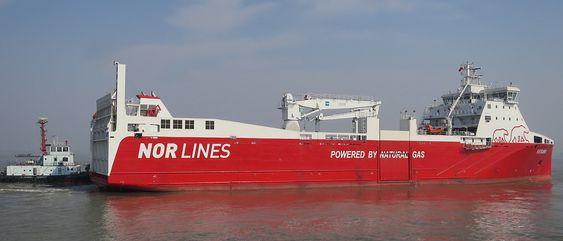 MV Kvitbjørn forlot Kina i begynnelsen av februar. Det 120 meter lange skipet får følge av et søsterskip om noen måneder. Skipene er på 5.000 dødvekttonn og får en rekkeviddde på 3.4000 nautiske mil.