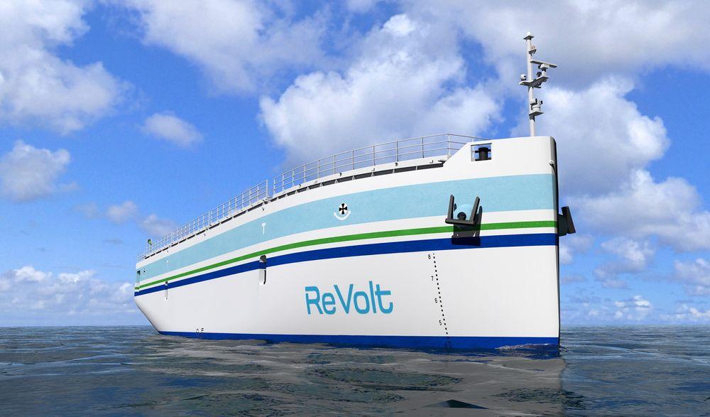 DNV GLs Revolt-konsept er et eksempel på hvordan ny teknologi spiller sammen for å redusere utslipp og ressursbruk i maritim næring.