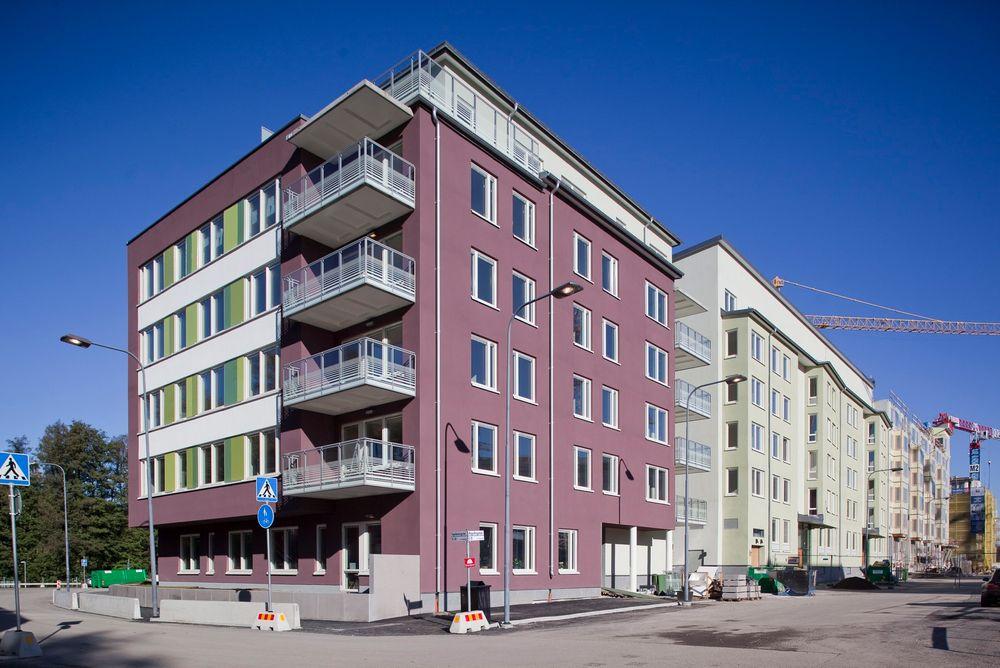 Leiligheten i prosjektet Aktivhuset er i Seniorgårdens hus i Norra Djurgårdsstaden.