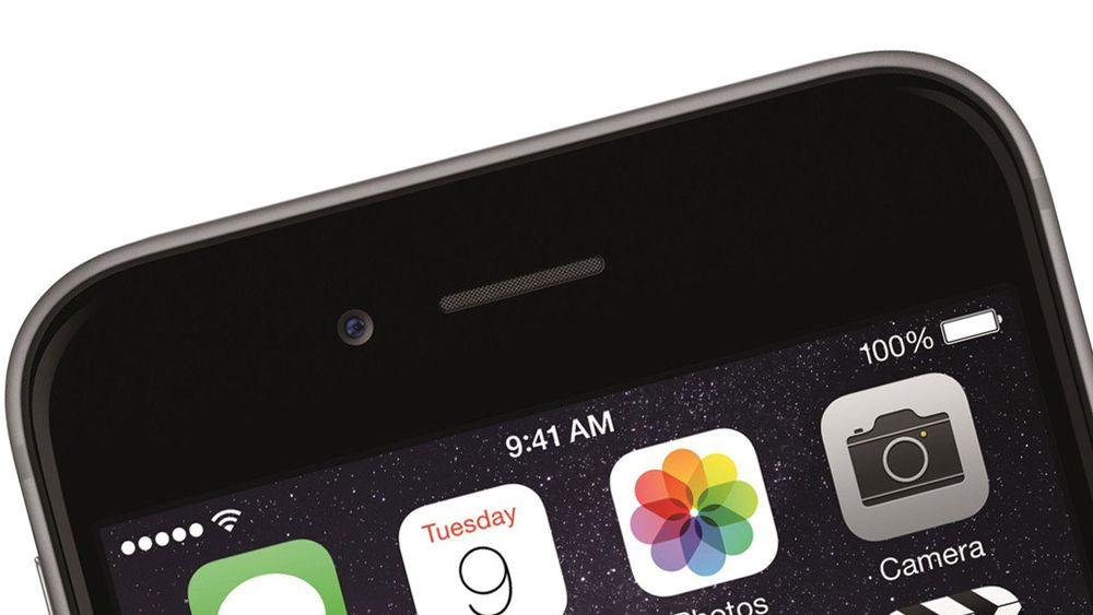 Selv om det antakelig er en stund til vi får se iPhone 7, har ryktene om den gått en god stund allerede. Bildet viser for øvrig en iPhone 6.